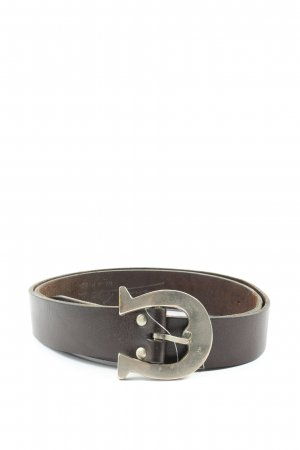 Aigner Leather Belt brown business style