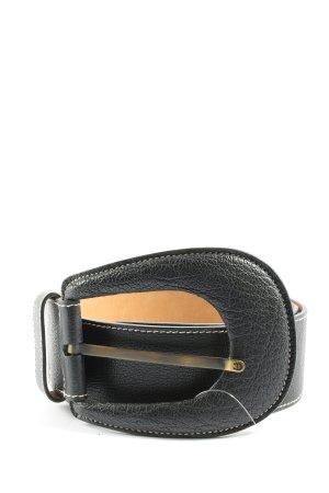 Aigner Cintura in ecopelle nero stile casual