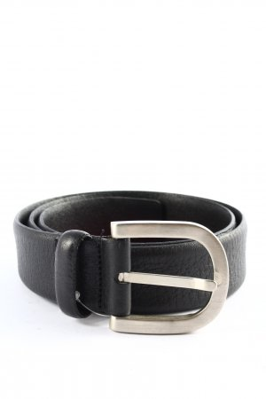 Aigner Faux Leather Belt black business style