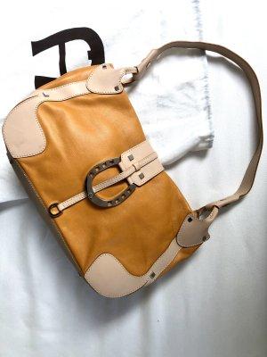Aigner Handbag light orange-cream leather