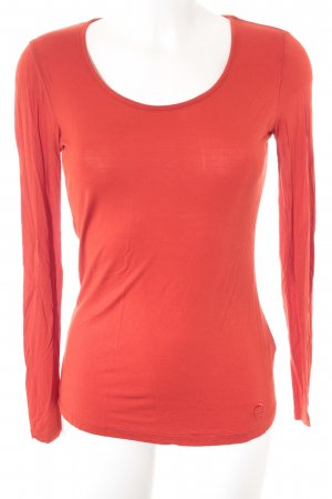 Aigner Longsleeve red casual look