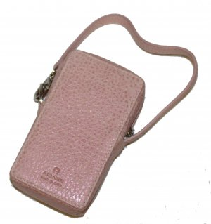 Aigner Mobile Phone Case pink leather