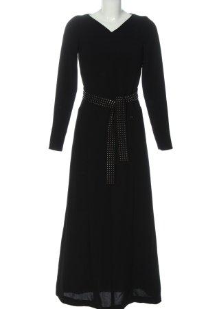 Aigner Maxi-jurk zwart casual uitstraling