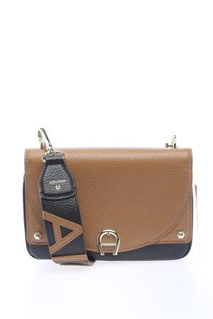 Aigner Mini Bag black-brown casual look