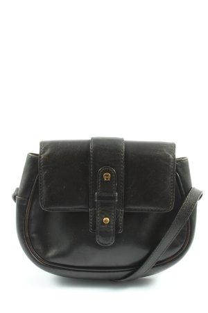Aigner Mini sac noir style décontracté
