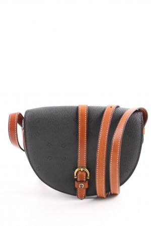 Aigner Borsetta mini nero-marrone stampa integrale stile casual
