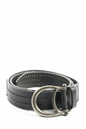 Aigner Studded Belt black casual look
