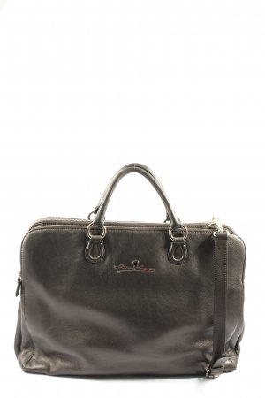 Aigner Laptop bag brown casual look