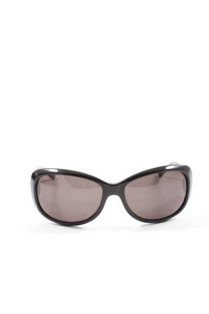 Aigner Owalne okulary przeciwsłoneczne czarny W stylu casual
