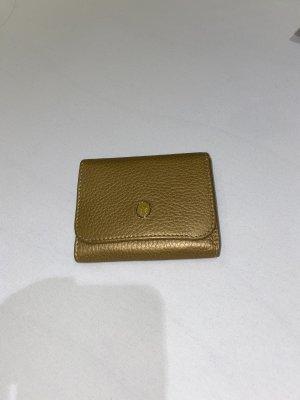 Aigner Portemonnee goud-brons Leer
