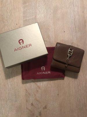 Aigner Wallet cognac-coloured