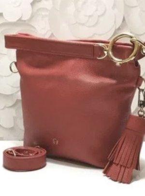 Aigner Shopper multicolored leather