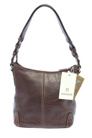 Aigner Shoulder Bag brown casual look