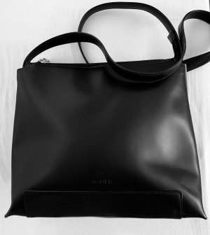 AIGNER Schultertasche schwarz Business-Look Damen Tasche Bag Shoulder Bag