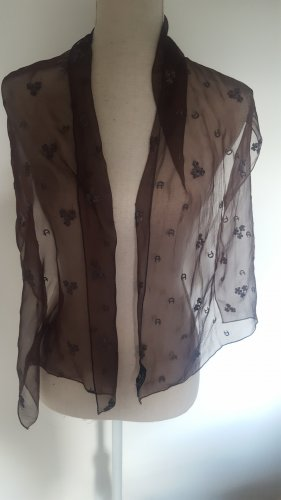 Aigner Silk Scarf brown