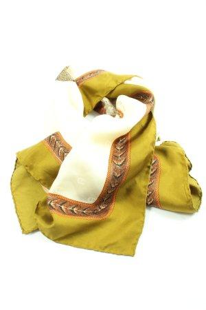 Aigner Bufanda de seda estampado repetido sobre toda la superficie look casual