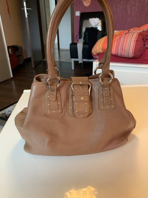 Aigner Shopper beige-pink leather