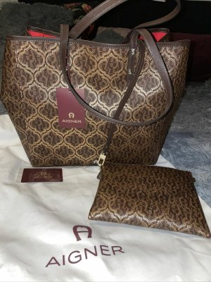 Aigner Bolso color bronce