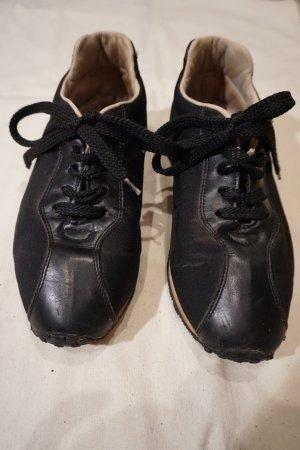 Aigner Sneaker Halbschuhe schwarz Größe 38