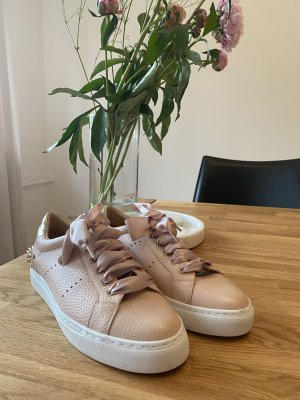 Aigner Lace-Up Sneaker rose-gold-coloured-dusky pink