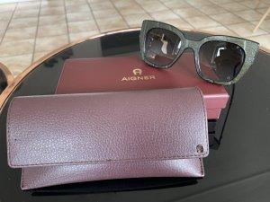 Aigner Sonnenbrille Kroko-Optik