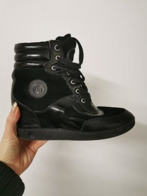 Aigner Stiefelette Keilabsatz sneaker Gr. 37