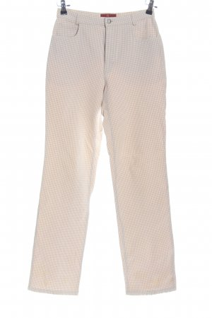 Aigner Jersey Pants natural white-white allover print casual look