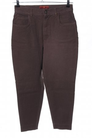 Aigner Straight Leg Jeans brown casual look