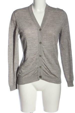 Aigner Cardigan tricotés gris clair moucheté style décontracté