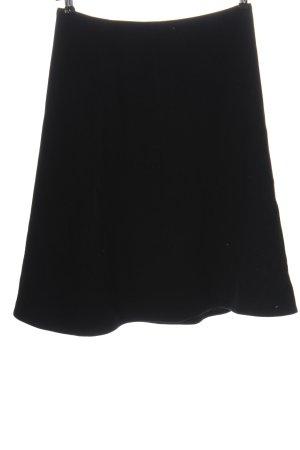 Aigner Jupe tricotée noir style décontracté