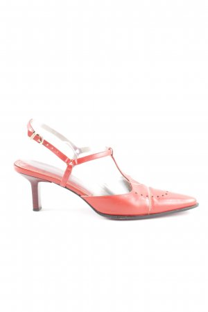 Aigner T-Steg-Pumps rot Casual-Look