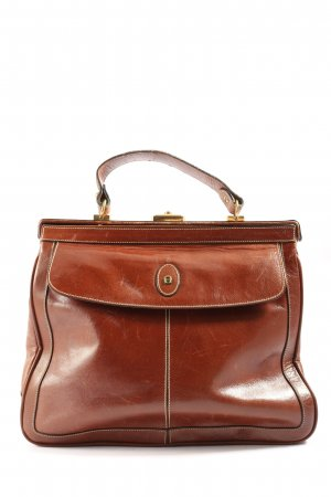 Aigner Henkeltasche braun Business-Look