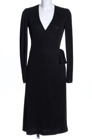 Aigner Kopertowa sukienka czarny W stylu biznesowym