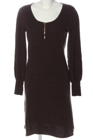 Aigner Woolen Dress brown casual look