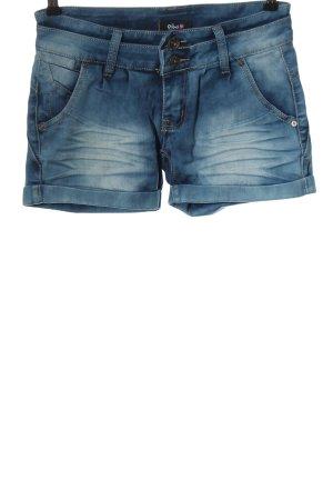 Aiki Short en jean bleu style décontracté