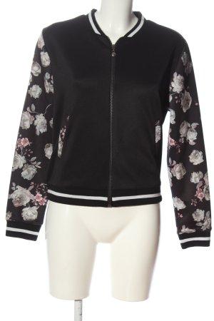 AIKI KEYLOOK Blouson flower pattern casual look