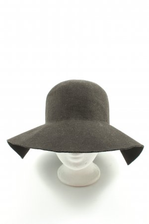 AIKI KEYLOOK Felt Hat black elegant
