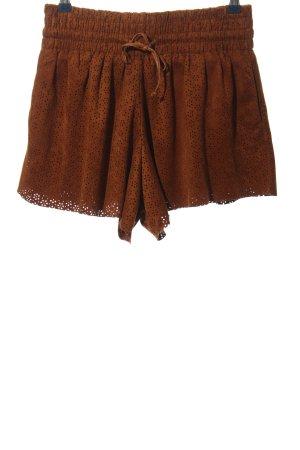 AIKI KEYLOOK Hot Pants brown casual look
