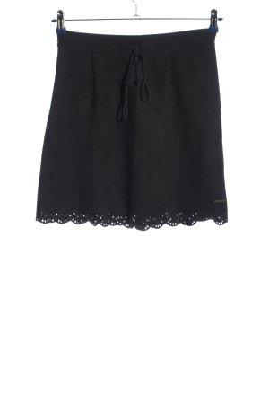 AIKI KEYLOOK Mini rok zwart casual uitstraling