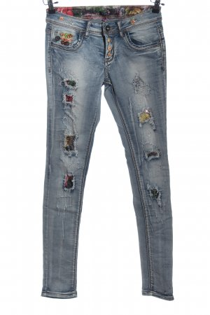 Aiki Tube Jeans blue casual look
