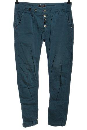 Aiki Jeans slim bleu style décontracté