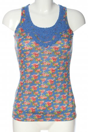 Aiki Strappy Top flower pattern extravagant style