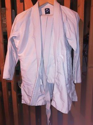 Długi sweter biały