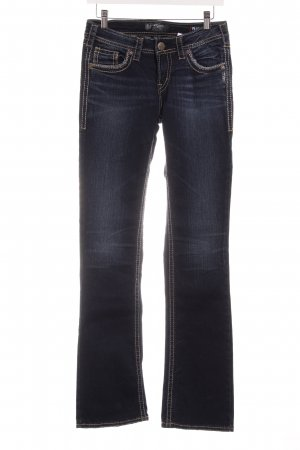 Aiko Boot Cut Jeans dunkelblau Casual-Look