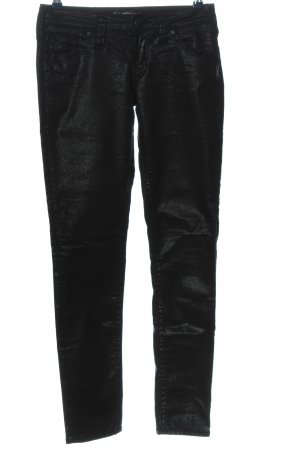 Aiko Low-Rise Trousers black casual look