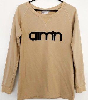 Aim´n Hell Braunes Sweatshirt Pullover