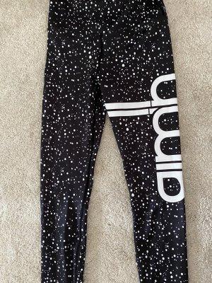 Aim'n Pantalon de sport noir-blanc