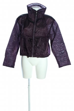 Air Field Chaqueta tipo blusa lila look casual