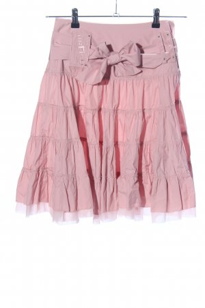 Airfield High Waist Rock pink Elegant