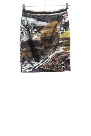 Airfield Minirock abstraktes Muster Casual-Look